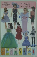 007 - Barbie vintage patterns