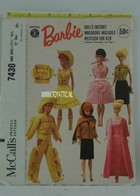 017 - Barbie vintage patterns