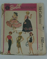 018 - Barbie vintage patterns