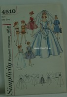 019 - Barbie vintage patterns