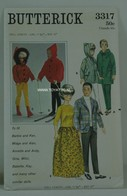 020 - Barbie vintage patterns