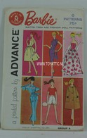021 - Barbie vintage patterns
