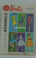 022 - Barbie vintage patterns