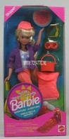 027 - Barbie doll playline- several dolls