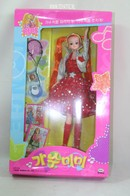 029 - Barbie doll playline - several dolls