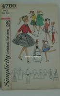 032 - Barbie vintage patterns