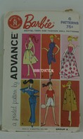 033 - Barbie vintage patterns