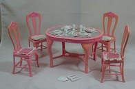 034 - Barbie playline furniture