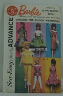 037 - Barbie vintage patterns