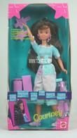 087 - Barbie doll playline - several dolls