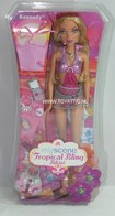 093 - Barbie doll playline - several dolls