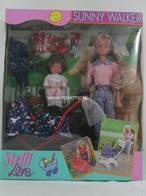 118 - Barbie doll playline - several dolls