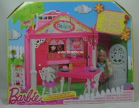 119 - Barbie doll playline - shelly