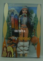 121 - Barbie doll playline - several dolls