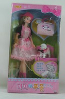 143 - Barbie doll playline - several dolls