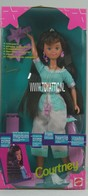 145 - Barbie doll playline - several dolls