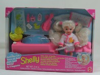 184 - Barbie doll playline- shelly